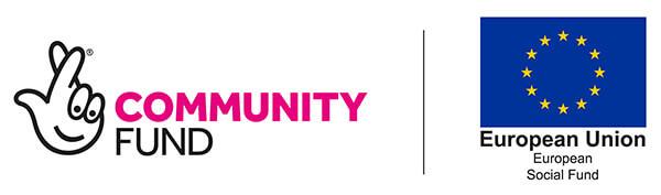 Community Fund and EU Social Fund Logos