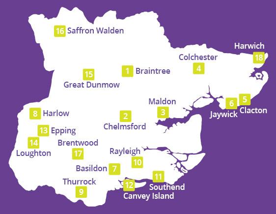 HeadsUp Contact Map